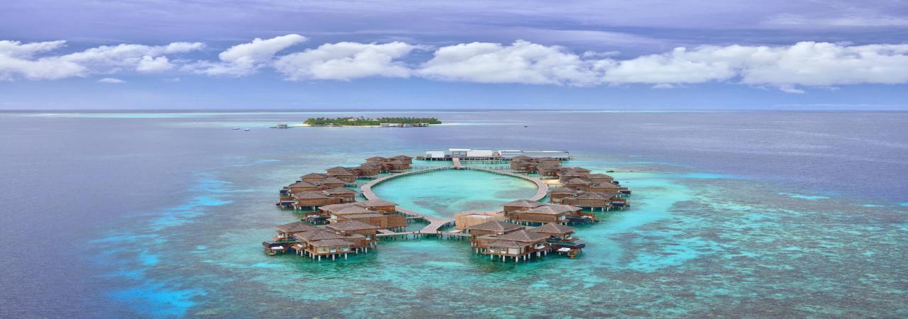 jumeirah dhevanafushi aerial shot - Jumeirah Resorts Maldives