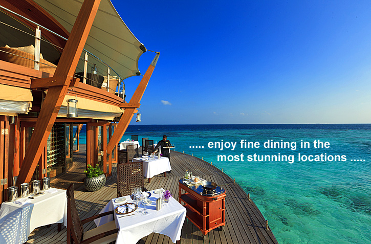 Fine Dining in Maldives