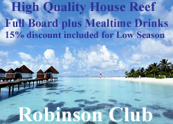 Robinson Club Maldives Discount Offer