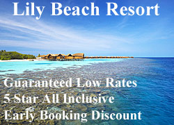 Lily Beach Maldives special offer