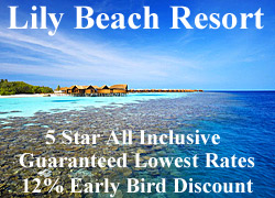 Lily Beach Early Bird Offer